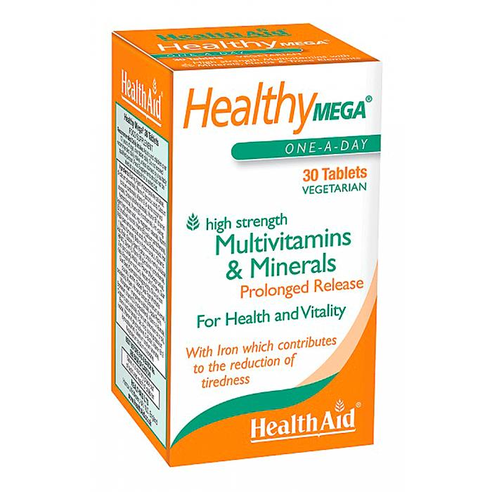 HealthAid Healthy Mega® - Bổ tổng hợp, nâng cao sức khỏe