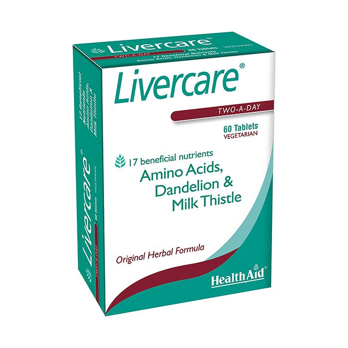 HealthAid Livercare 60 viên nén
