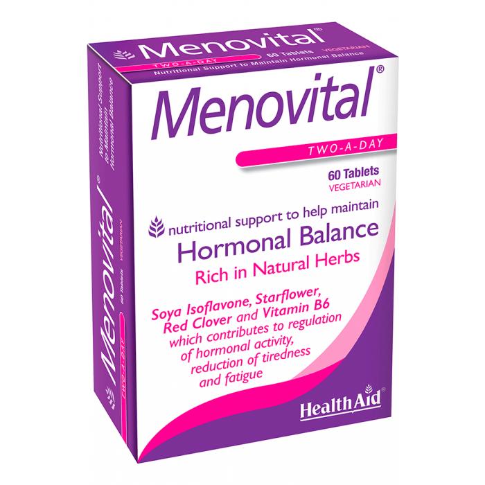 HealthAid Menovital®, Cân bằng hormon, tăng cường sinh lý Nữ