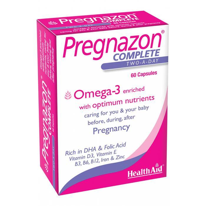 Viên nang hoàn chỉnh Pregnazon - HealthAid